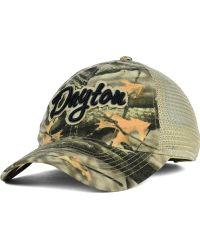 Legacy Athletic - Dayton Flyers Lost Camo Script Trucker Cap - Lyst
