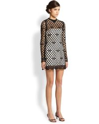 Marc Jacobs Guipure Lace Dress - Lyst