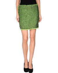 Lanvin Mini Skirt - Lyst
