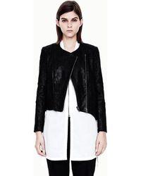Helmut Lang Patina Leather Jacket - Lyst