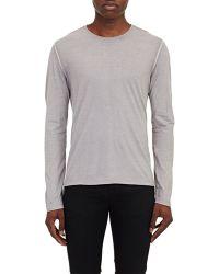 John Varvatos Jersey T-Shirt gray - Lyst