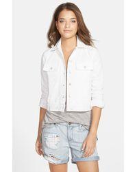 J Brand 'Isla' Denim Jacket - Lyst