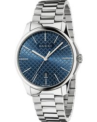 Gucci Ya126316 G-Timeless Slim Collection Stainless Steel Watch - For Men - Lyst