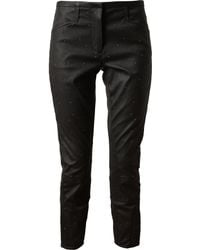 3.1 Phillip Lim Studded Leather Trousers - Lyst