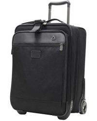 Andiamo - Luggage 'avanti Collection' Auto Expand Wheeled Suitcase With Garment Bag - Lyst