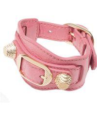 Balenciaga | Giant Gold Bracelet | Lyst