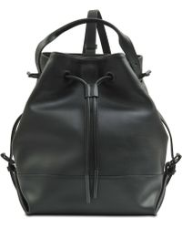 Opening Ceremony Izzy Smooth Leather Backpack - Lyst