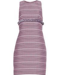 Matthew Williamson Geometric Jacquard Mini Dress - Lyst