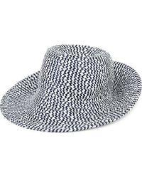 Armani - Wide-brimmed Straw Hat - Lyst