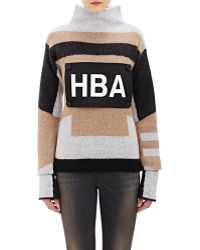 Hood By Air - Logo-patch Turtleneck Sweater - Lyst