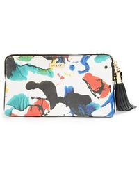 Milly 'Splatter Paint' Clutch - Lyst