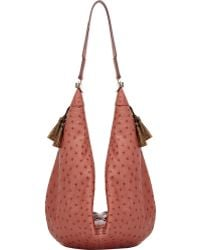 The Row Ostrich Sling 15 Hobo - Lyst