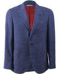 Brunello Cucinelli Patch Pocket Jacket - Lyst