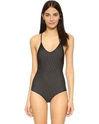 Acacia Swimwear - Sunset Mesh One Piece Swimsuit - Lyst