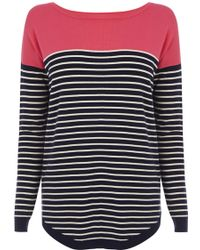 Oasis Heart Patched Relaxed Jumper - Lyst