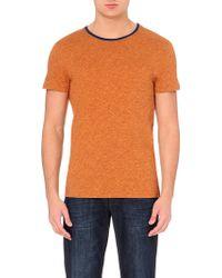 Oliver Spencer Jasper Contrast Trimmed T-Shirt - For Men - Lyst