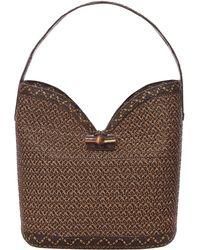 Eric Javits Watusi Bucket Bag brown - Lyst