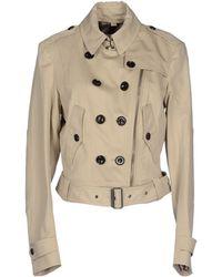 Burberry Brit - Full-length Jacket - Lyst