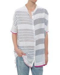 Lemlem Shora Gauze Shirt blue - Lyst
