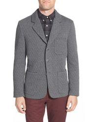 Slate & Stone - 'adam' Houndstooth Knit Three-button Sport Coat - Lyst