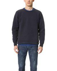 Chimala - Heavyweight Brushed Fleece Sweatshirt - Lyst
