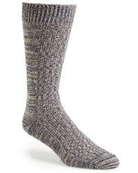 Mr Gray - Textile Slub Knit Socks - Lyst
