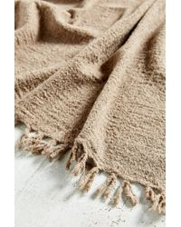 Urban Renewal - Auntie Oti Lightweight Wool Throw Blanket - Lyst