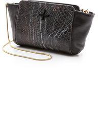 Pour La Victoire Elie Mini Cross Body Bag - Snake Multi - Lyst