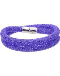 Swarovski - Stardust Bracelet - Lyst