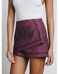 Free People Womens Day Trip Mini purple - Lyst