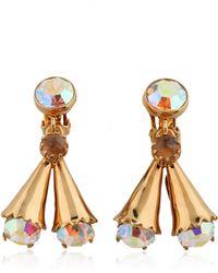 House Of Lavande Luna Earring gold - Lyst