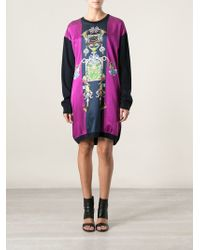 Mary Katrantzou Knip Sweater Dress - Lyst