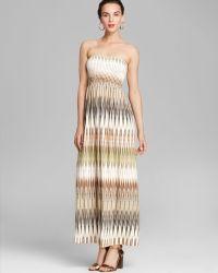 Karen Kane - Marrakech Ikat Maxi Dress - Lyst