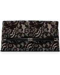 Diane Von Furstenberg 440 Lace Envelope Clutch Bag  - Lyst