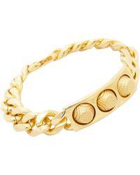 Balenciaga Studded Id Bracelet - Lyst