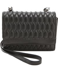 Theyskens' Theory Theyskens' Theory Sarah Acap Quilted Bag - Black