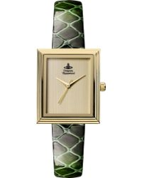 Vivienne Westwood Vv115gdgr Gold-toned and Leather Watch - Lyst