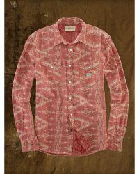 Denim & Supply Ralph Lauren Jacquard Knit Western Shirt - Lyst