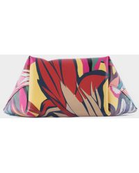 """Marni """" St.Collage"""" Pvc Pochette multicolor - Lyst"""