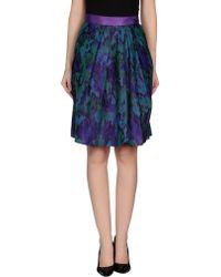 RED Valentino Knee Length Skirt - Lyst