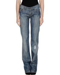 D&G Denim Trousers - Lyst