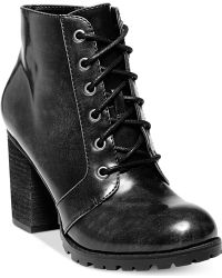 Madden Girl Arrested Booties - Lyst