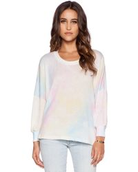 Wildfox Dream Tie Dye Top - Lyst