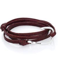 Miansai | Hook Leather Wrap Bracelet | Lyst