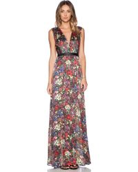 Alice + Olivia Triss Maxi Dress - Lyst