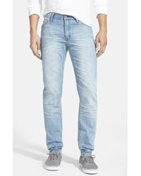 Cheap Monday 'High Slim' Slim Fit Skinny Jeans - Lyst