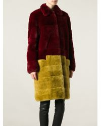 Andrea Incontri Oversized Coat - Lyst