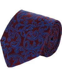 Duchamp Baroque Silk Jacquard Neck Tie - Lyst