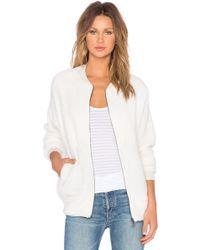 Bella Luxx - Sherpa Cotton-Blend Jacket - Lyst