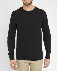 Levi's | Black Tab Logo Sweatshirt | Lyst